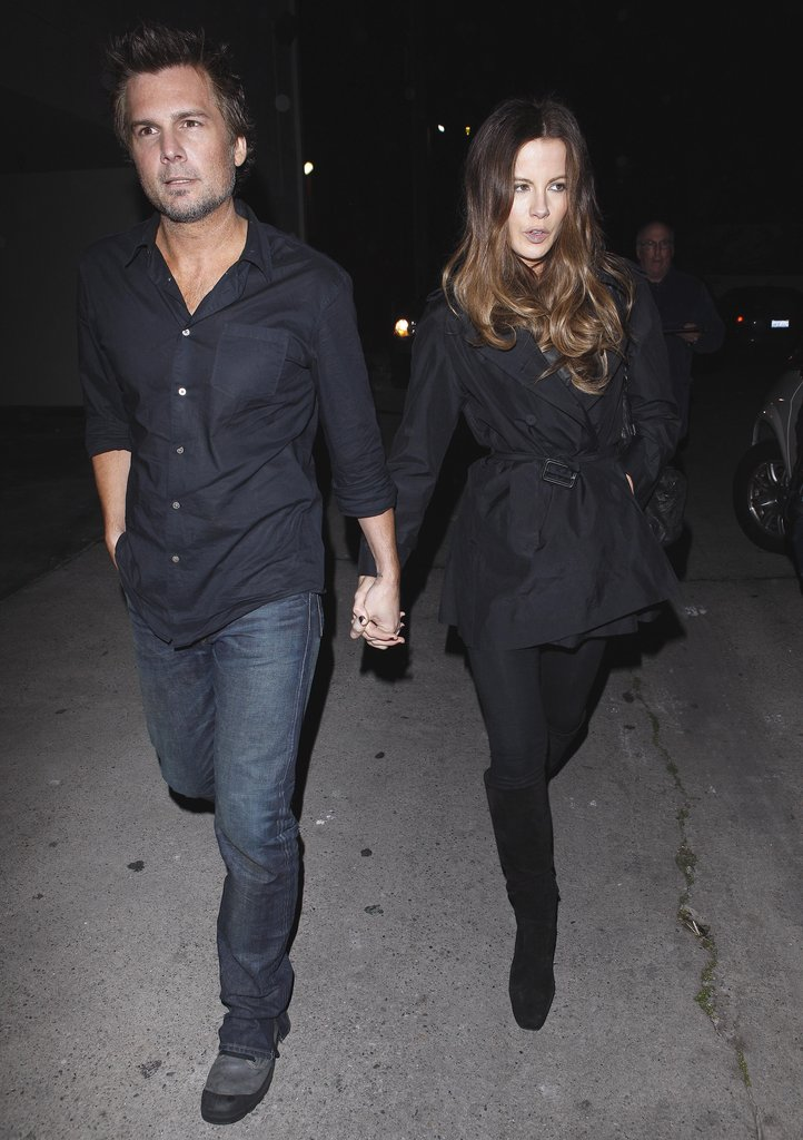 Kate Beckinsale and Len Wiseman enjoyed a date night in LA.