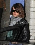 Penelope Cruz stepped out in Aviators.