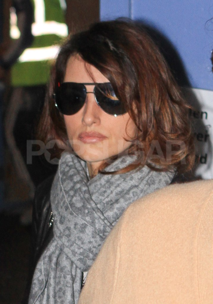 Penelope Cruz ran errands in London's West End.