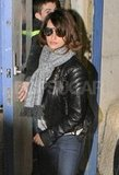 Penelope Cruz toured London's West End.