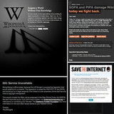 SOPA Protest Websites