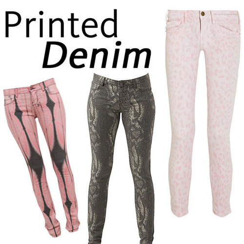 Update Your Denim Wardrobe With Our Pick of Printed Denim Courtesy of Ksubi, Current Elliott, Sass and Bide and More!
