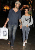 Eva Longoria and Eduardo Cruz Hold Hands During Date Night