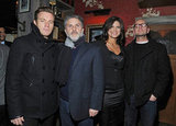 Ewan McGregor, Gregory Jacobs, Gina Carano, and Steven Soderbergh were together for Haywire in NYC.