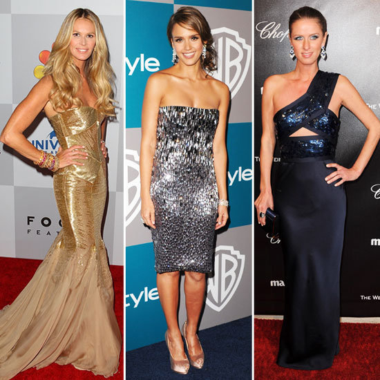 Catch up on who wore what to the Golden Globes afterparties.