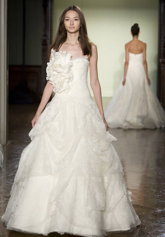 Vera Wang Designer Wedding Dresses