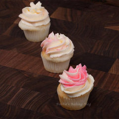 White-Almond Cupcakes, Just In time For Valentine's Day