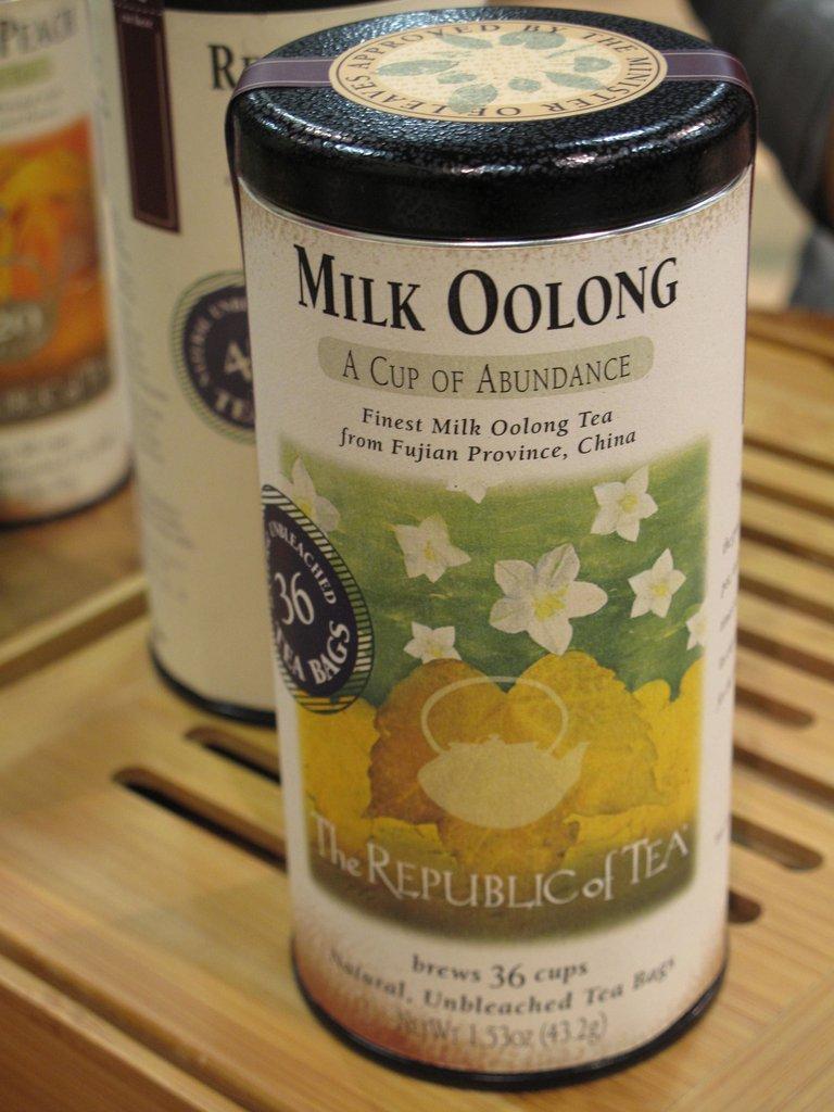 Milk Oolong