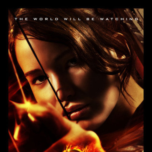 The Hunger Games Final Poster With Katniss