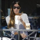 Jennifer Carpenter had coffee in LA.