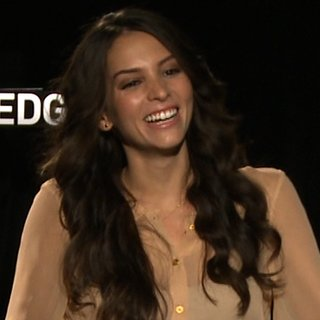 Jamie Bell Genesis Rodriguez Man on a Ledge Interview