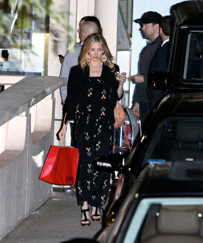 Kate Hudson left the LACMA with Matthew Bellamy.