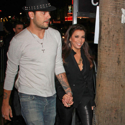 Eva Longoria and Eduardo Cruz Leaving Dinner in LA Pictures