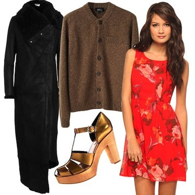 Pretty Dresses and Jackets to Wear 2012