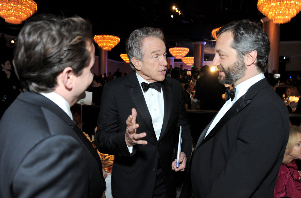 Warren Beatty and Judd Apatow