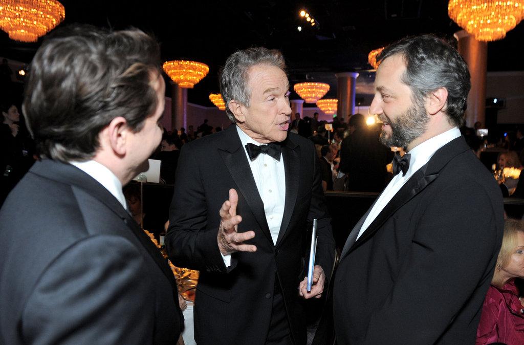 Warren Beatty and Judd Apatow