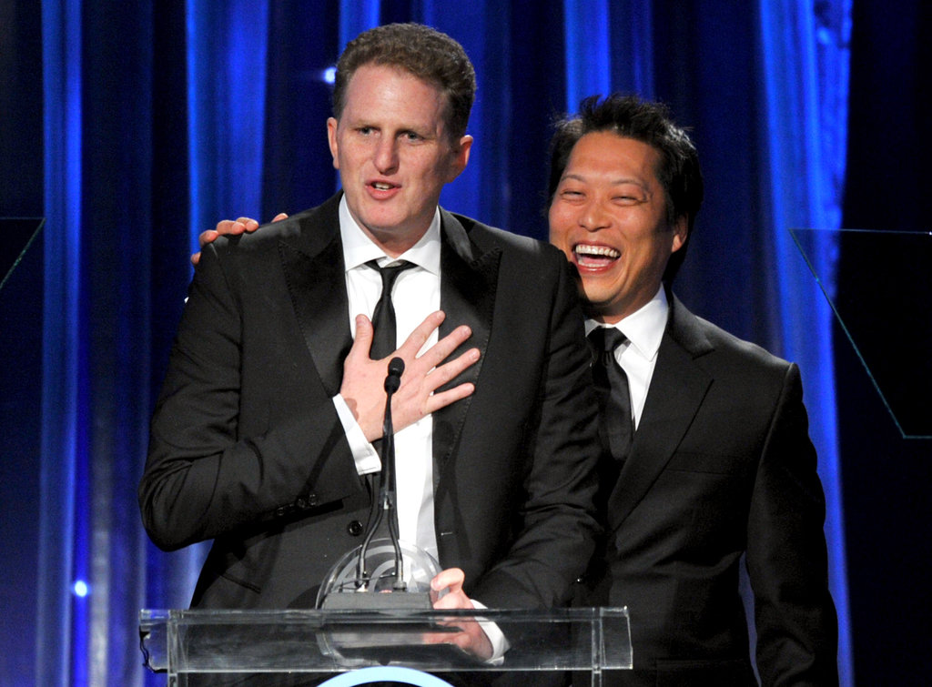 Michael Rapaport and Edward Parks