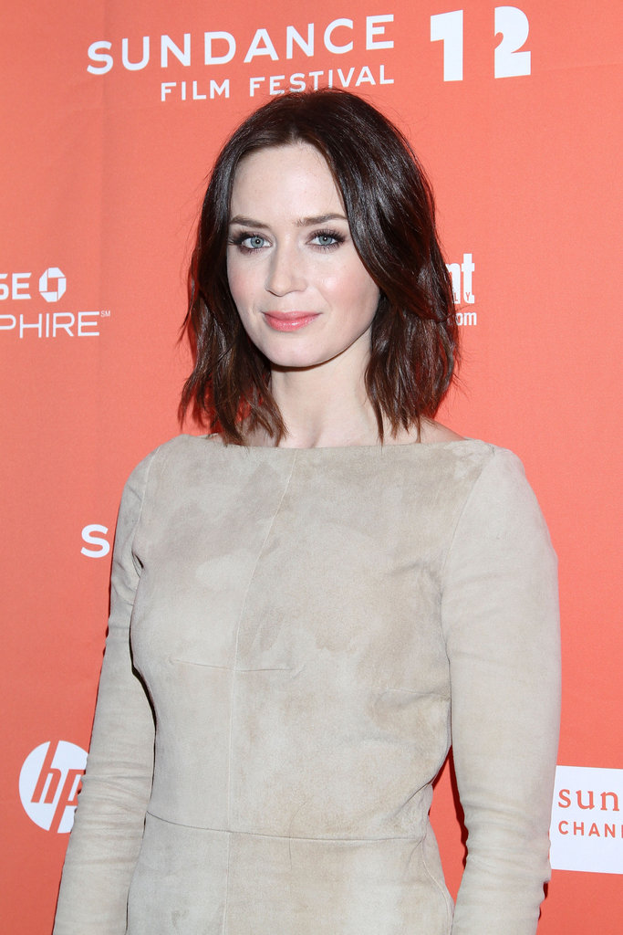 Emily Blunt premiered Your Sister's Sister at the Sundance Film Festival.