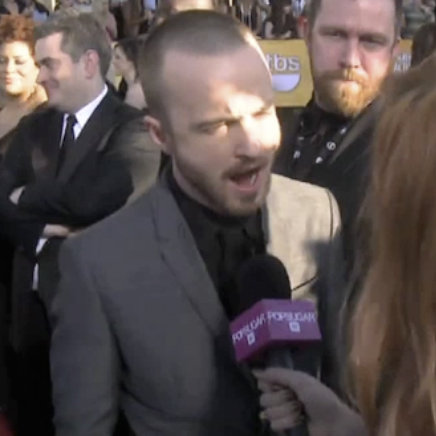 Aaron Paul SAG Awards 2012 Red Carpet (Video)