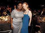 Octavia Spencer and Jessica Chastain had a photo op.