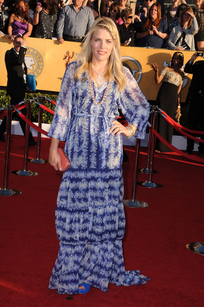 Busy Philipps at the 2012 SAG Awards.