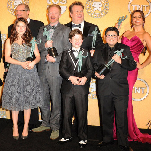 Modern Family Cast Quotes at SAG Awards Press Room