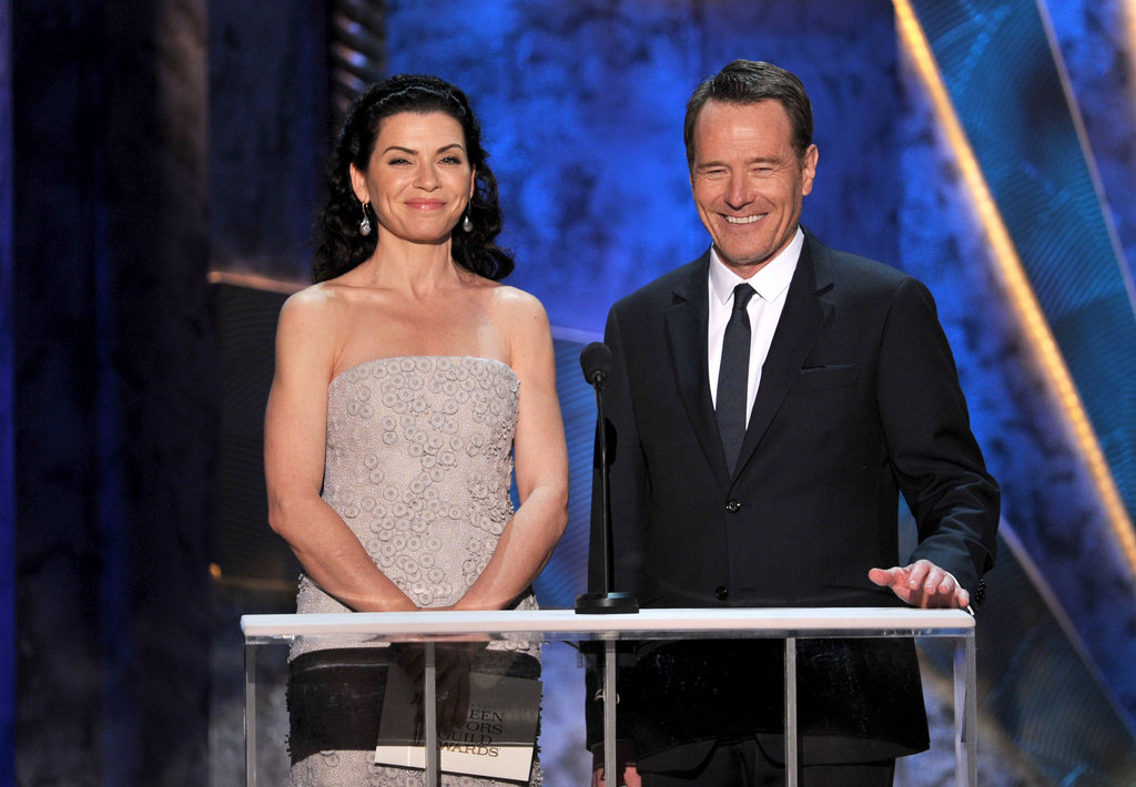 Julianna Margulies and Bryan Cranston
