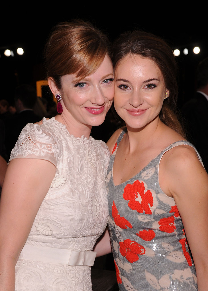 The Descendants ' Judy Greer and Shailene Woodley at the SAGs.