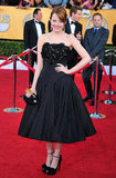Emma Stone at the SAG Awards