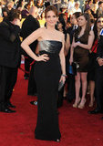 Tina Fey Goes Strapless For the SAG Awards