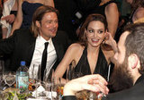 Angelina Jolie with Brad Pitt at the SAGs.