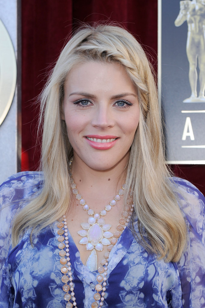 Busy Philipps went beachy for the 2012 SAG Awards.