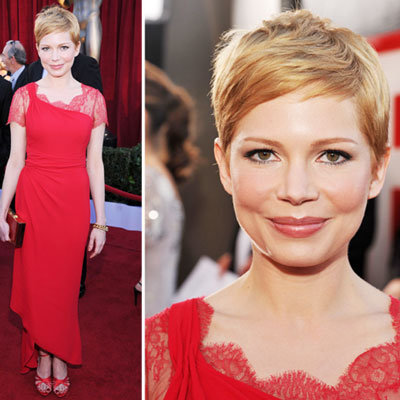 Michelle Williams at the SAG Awards 2012