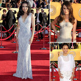 SAG Awards Trend 2012: Silver and Gray