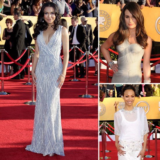 SAG Awards Trendspotting: Standout Gray and Silver Gowns