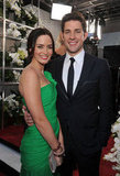 Emily Blunt and John Krasinski make a cute pair.