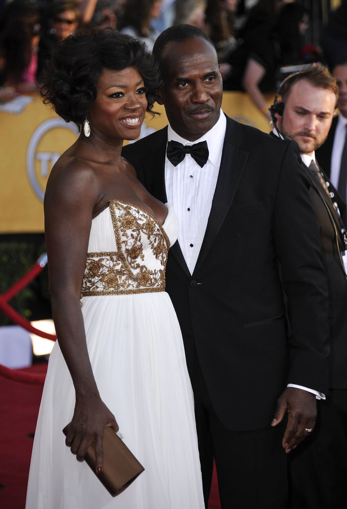 Viola Davis and Julius Tennon make a gorgeous couple.
