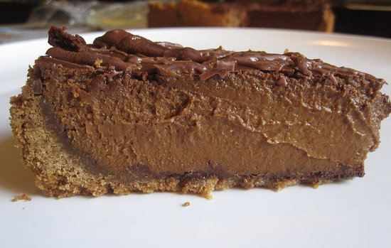 Triple-Chocolate Pumpkin Pie