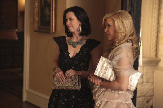 Miriam Shor and Jennifer Aspen in GCB. Photos copyright 2012 ABC, Inc.