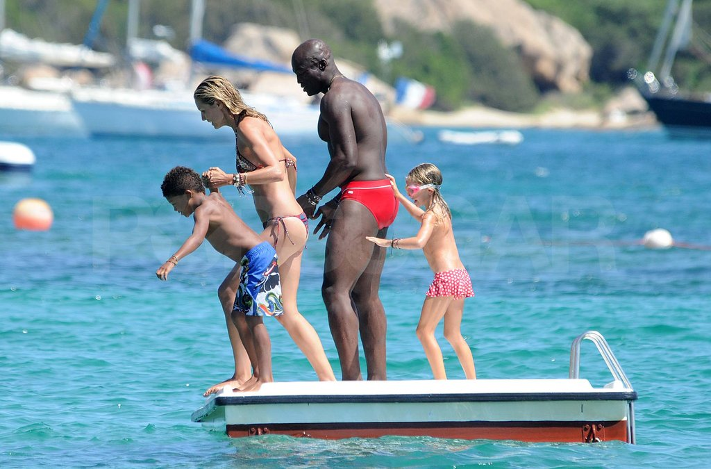 The whole family vacationed in Italy last August.