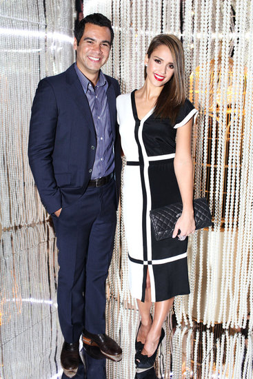 Jessica Alba and Cash Warren in Las Vegas for Chanel. David X. Prutting/BFAnyc.com