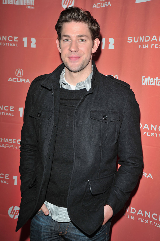 John Krasinski was out for Sundance.