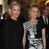 Cameron Diaz and Diane Kruger Kick Off Paris Couture Week