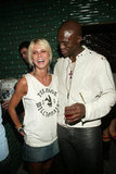 Heidi and Seal attended the after party for a Marc Jacobs show in September 2003.