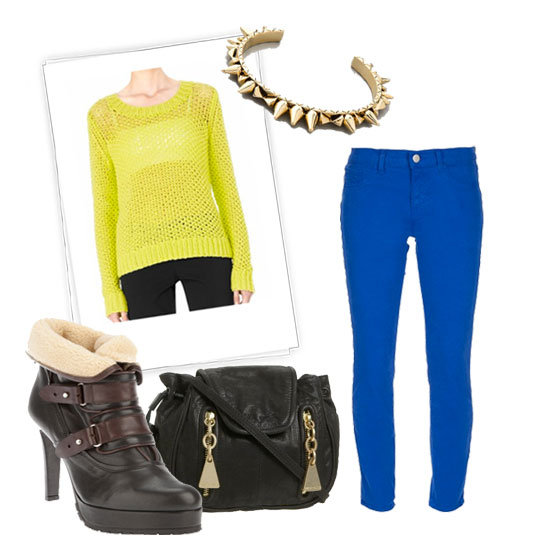 How to Wear Neon in Winter