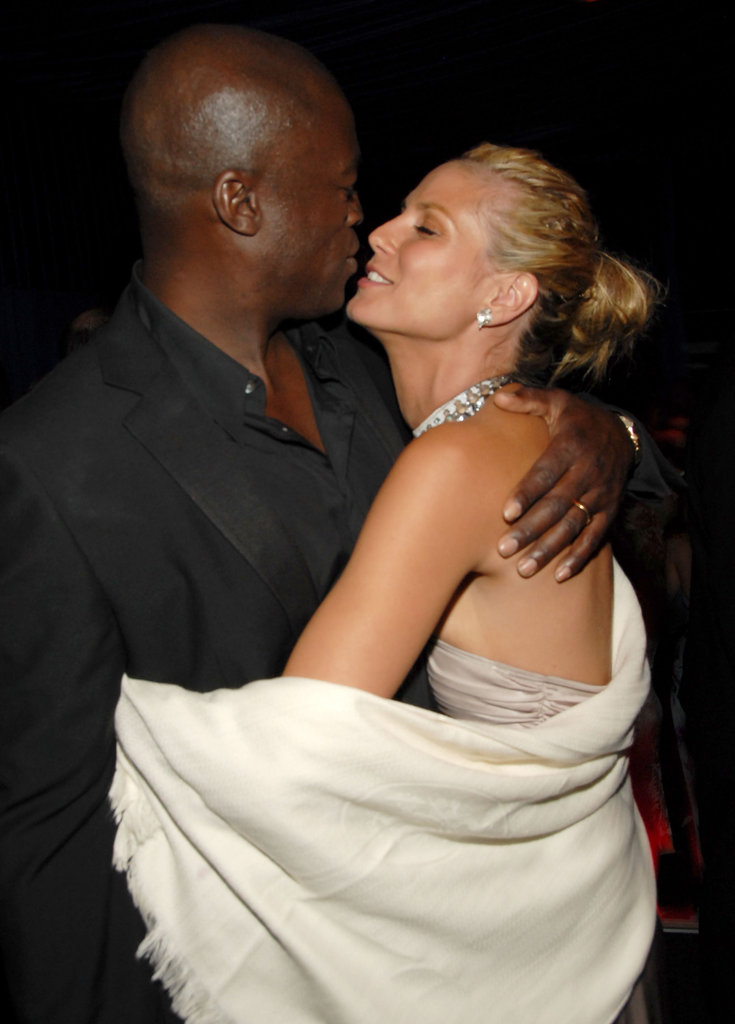 Heidi and Seal cozy up at a 2006 Golden Globes afterparty.