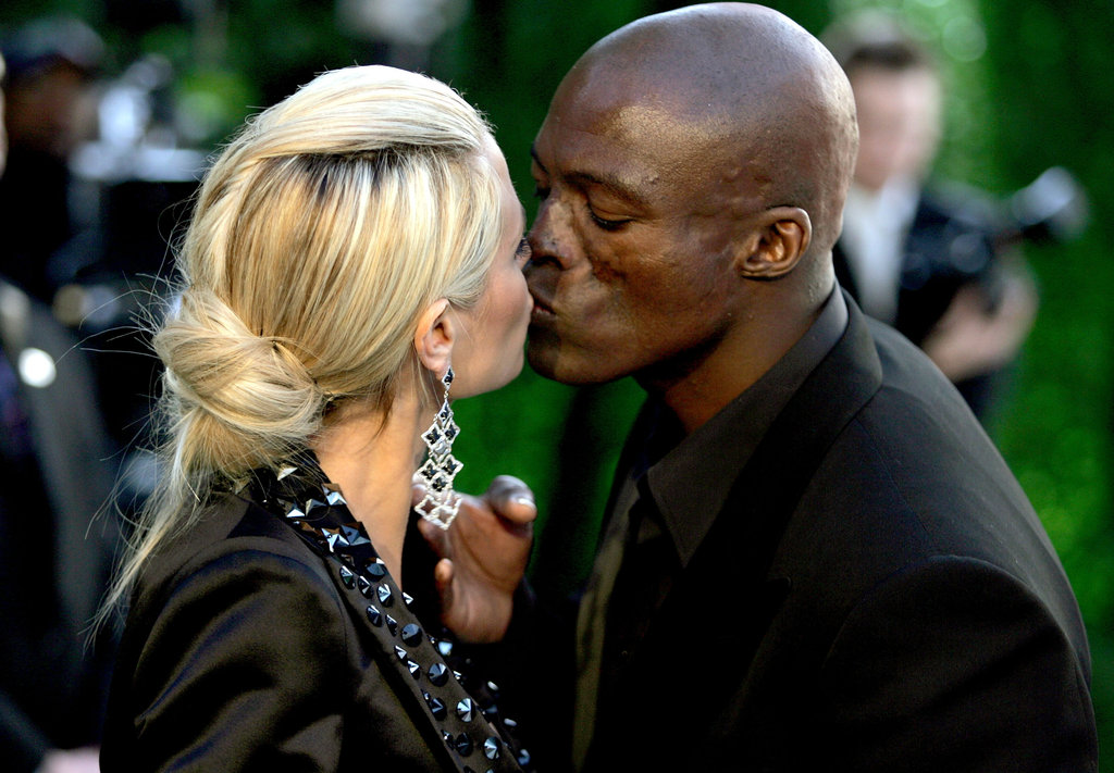 Seal and Heidi pucker up at a pre-Oscar party in 2005.