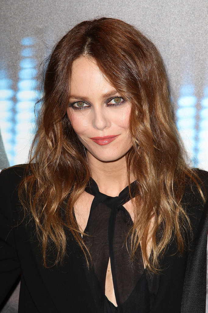 Vanessa Paradis went black tie for the red carpet.