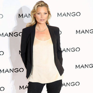 Kate Moss Is the New Face of Mango Launch Pictures