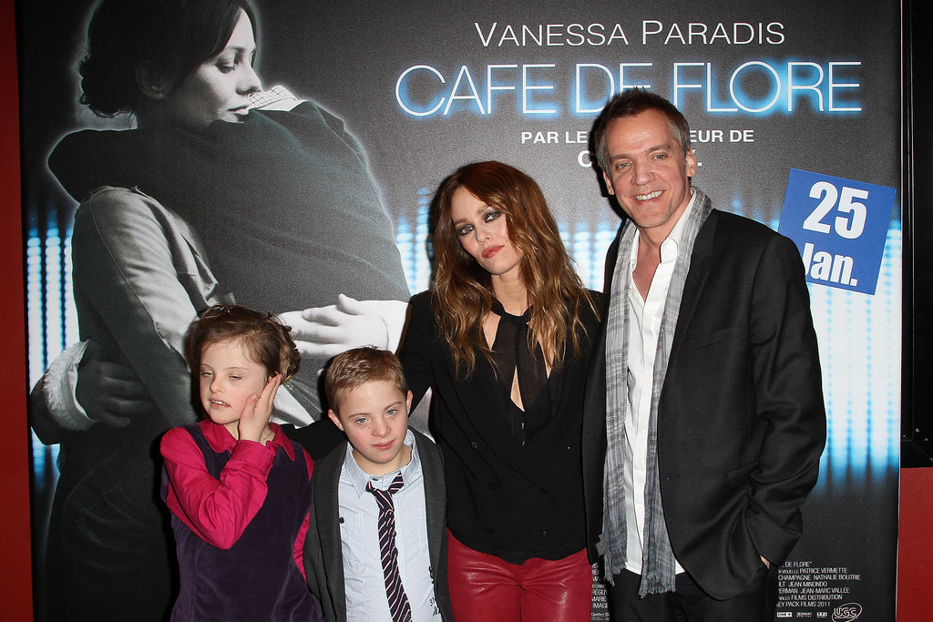 Alice Dubois and Marin Gerrier joined Vanessa Paradis and Jean-Marc Vallée on the red carpet.
